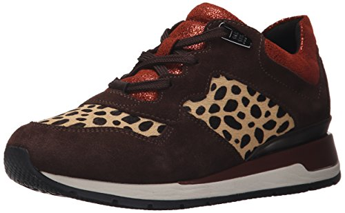 Geox Womens Shahira14 Fashion Sneaker Camel/Coffee kmKyLMl
