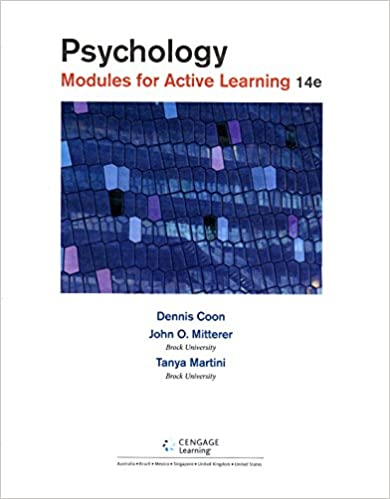 Amazon psychology modules for active learning loose leaf psychology modules for active learning loose leaf version 14th edition fandeluxe Images