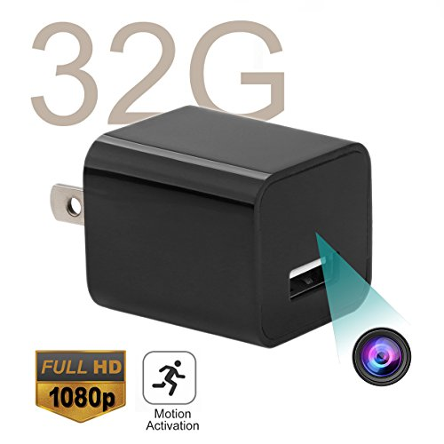 USB Hidden Spy Camera - ABOUR 32GB 1080P HD Motion Activated USB Mini Spy Cameras Nanny Camera Personal Security Video Recorder The Latest Version