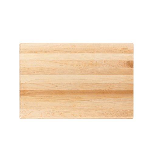 John Boos R01 Maple Wood Edge Grain Reversible Cutting Board, 18 Inches x 12 Inches x 1.5 Inches
