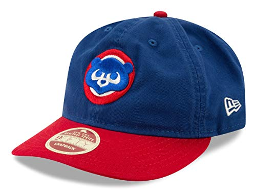 New Era Chicago Cubs MLB 9Fifty Cooperstown 2 Toned Retro Snap Back Hat