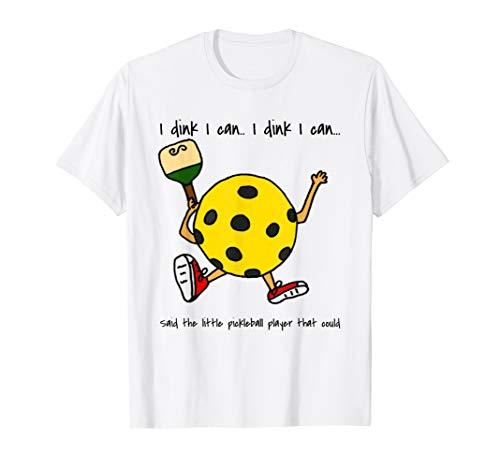 I dink I can funny pickleball shirt