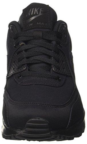 Nike Mode 90 Baskets Max Black Essential Homme Air Black Black Noir SZrXwqSOn