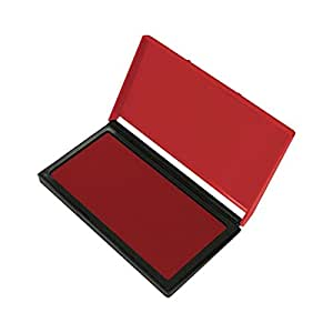 "OfficeMax Gel Stamp Pad 2-3/4 x 4-1/4"" (Size #1) Red"