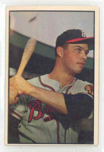1953 Bowman Color Baseball 97 Eddie Mathews Excellent (5 out of 10) by Mickeys Cards (1953 Bowman Color Baseball)