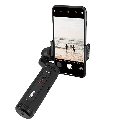 JSD PRO Zhiyun Smooth-Q2 (Official Dealer) 3-axis Smartphones Gimbal Stabilizer,POV Mode, 260g Payload, Zhiyun-Smooth-Q2…