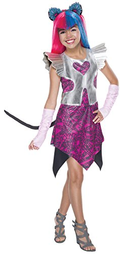 All Monster High Costumes (Rubie's Costume Monster High Boo York Catty Noir Child Costume, Medium)