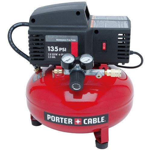 PORTER-CABLE PCFP02003 3.5-Gallon 135 PSI Pancake Compressor