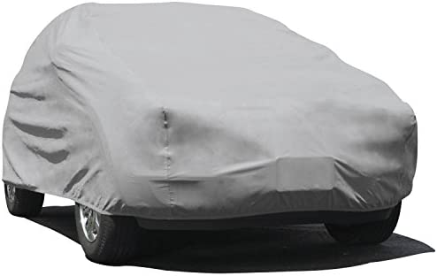 Polypropylene, Gray Budge Duro Truck Cover Fits Trucks with Extended Cab Compact Pickups up to 210 inches TD-2X