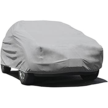 Budge Rain Barrier Station Wagon Cover Fits Station Wagons up to 200 inches, Waterproof SRB-2 - (Polypropylene with Waterproof Film, Gray)