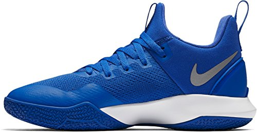 Men's Zoom Nylon Shoes Shift White Basketball Nike Game Royal T1qwRqS