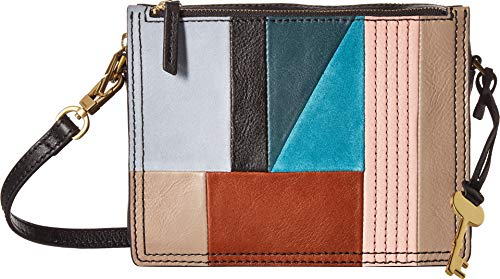 Fossil Campbell Crossbody Bag, Patchwork