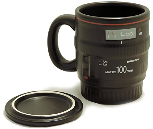top 5 best camera lens coffee mug,sale 2017,handle,Top 5 Best camera lens coffee mug with handle for sale 2017,