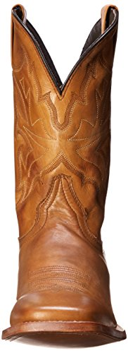 Tan Men's Toe Square Burnished Ficcini Riding Stetson Boot wg0Hqw