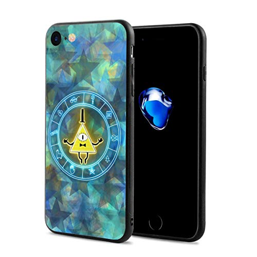 Gravity Falls Anti-Scratch Shock Rubber Silicone Rugged Thin Cover Phone Case for iPhone 7/iPhone 8