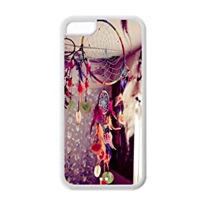 Customize Dream Catcher TPU Cover Case for Apple iPhone 5C Snap-on Back Cover Case-5C017DC