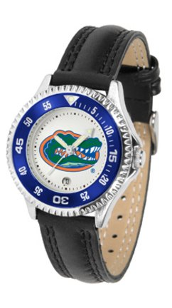SunTime Florida Gators Competitor Ladies Watch with Leather Band