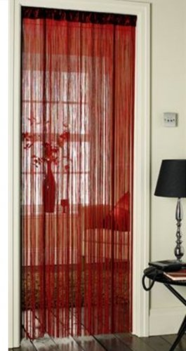 Spaghetti String Door Curtain in Deep Pink & Spaghetti String Door Curtain in Deep Pink: Amazon.co.uk: Kitchen u0026 Home