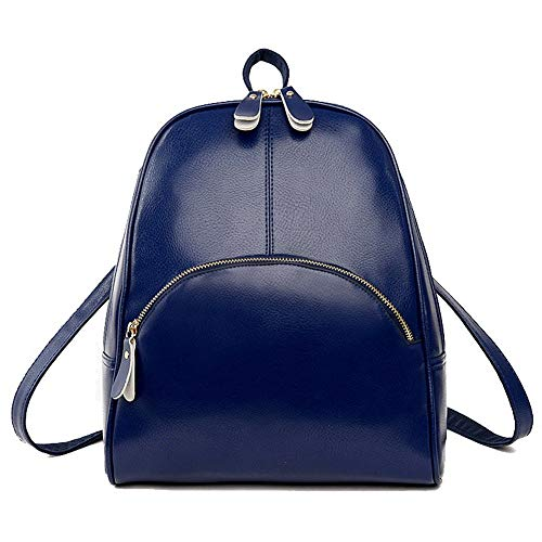 TSDBG220448 AalarDom Black Blue Casual Zippers Dacron Women's Shoulder Bags Pu 0C0nwvOq