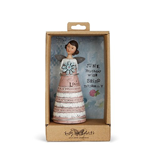 DEMDACO June Birthday Wish Angel Figurine