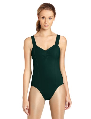 2010 Plus Green Line - Capezio Women's Princess Tank Leotard,Hunter,Large
