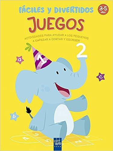 Juegos fáciles y divertidos: 3-5 años. Actividades para ayudar a los pequeños a empezar a contar y escribir 1001 actividades: Amazon.es: YOYO, ...