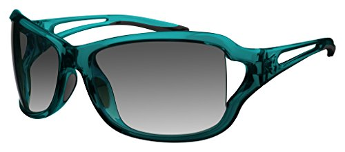 Ryders Women's Coco Poly TGG Wrap Sunglasses,Turquoise,170 - Sunglasses Coco