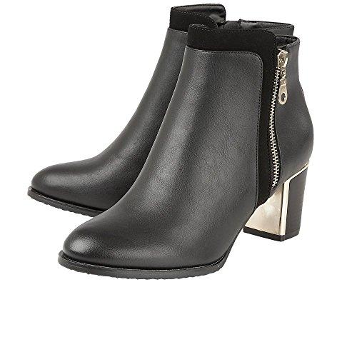 Womens Ankle Lotus Black Boots Dress Tabby U5OwPZCq