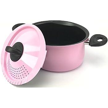 Amazon Com Parini 6 Qt Pasta Pot Stainless Steel Kitchen Amp Dining