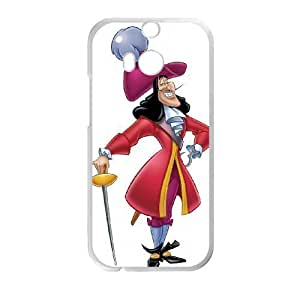 HTC One M8 Phone Case White Peter Pan Captain Hook DYW5151685