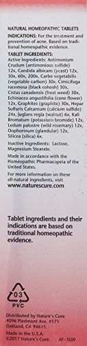 Nature's Cure Two-Part Acne Treatment System, for Women, 1 month supply (60 Tablets, 1 Ounce Cream)