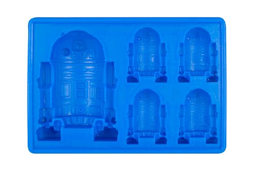 Star Wars R2-D2 Silicone Ice Tray / Chocolate