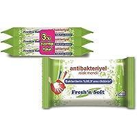Fresh'n Soft Antibakteriyel Islak Mendil, 3X15 Yaprak