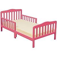 Furniture World Madison Toddler Bed, Hot Pink