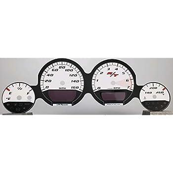 Challenger US Speedo Daytona Edition White Magnum Charger RT 160 MPH