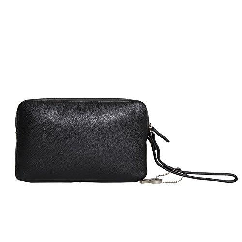 Picard Luis 8644 schwarz , Leder Herren Handgelenktasche 20 x 13 x 5 cm Tasche Handtasche Ledertasche Männer