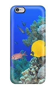 2560921K56223145 Cute Tpu TashaEliseSawyer Fish Case Cover For Iphone 6 Plus