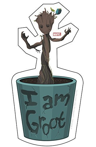 C&D Visionary Guardians of The Galaxy Movie Baby Groot Sticker by C&D Visionary Inc.