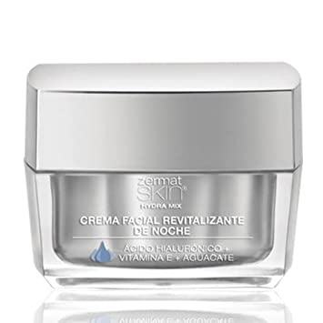 Zermat Skin Hydra Mix Revitalizing Night Cream, Anti- Aging Crema Hidratante De Noche Contra