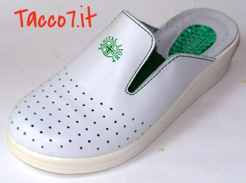 scarpe da corsa raccolta di sconti bene Sanital Light 1352 Ciabatte Sanitarie Donna Gel Bianco ...