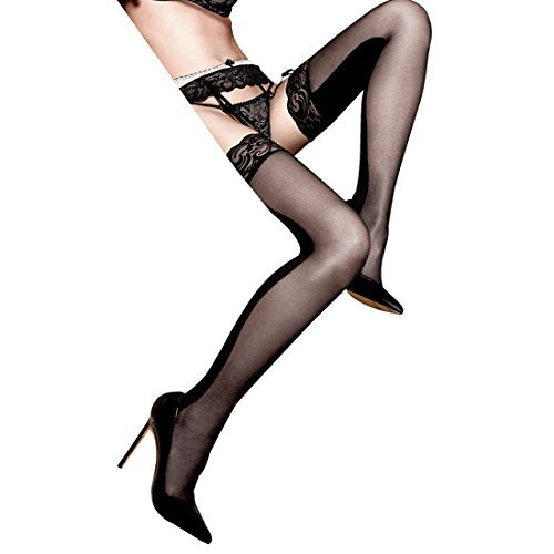 4d0c11c4e Baci Tights Opaque and Transparent with Lace  Amazon.co.uk  Electronics