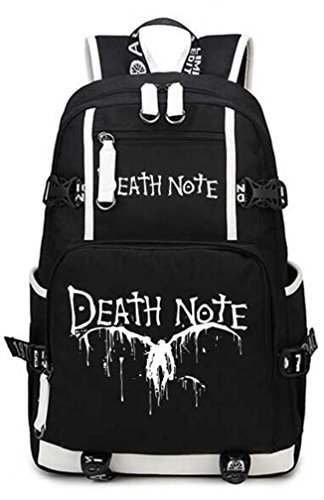 YOYOSHome Death Note Anime Light Yagami Cosplay College Bag Daypack Bookbag Backpack School Bag