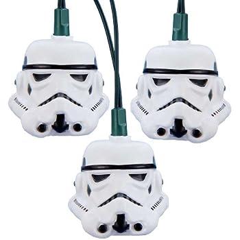 star wars kurt adler ul 10 light storm trooper light set - R2d2 Christmas Lights