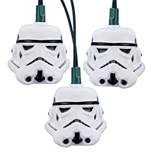 Star Wars Kurt Adler UL 10-Light Storm Trooper Light Set