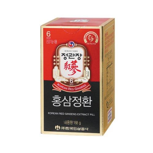 Cheong Kwanjang By Korea Ginseng Corporation Korean Red Ginseng Extract Pill 168g x2 (2 Bottle)