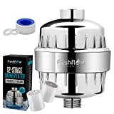 Water Softener Shower Head Filter | Revolutionary Technology Removes Hard Water, Chlorine, Fluoride While Adding Vitamin C Levels To Give You The Skin and Hair You've Always Dreamed Of (12 Stage)