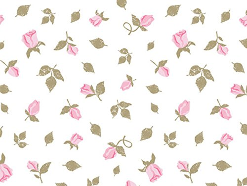 - Pretty Cottage Roses Printed Tissue Paper for Gift Wrapping with Floral Design, Decorative Tissue Paper - 24 Large Sheets, 20x30
