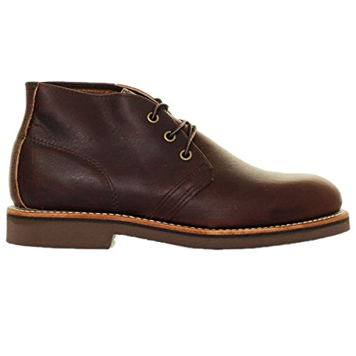 Red Wing Heritage Men's Chukka Lace Up, Briar Oil Slick, 9.5 D US (Wing Red Chukka)