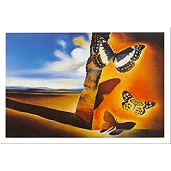 Salvador DALI-BUTTERFLY Sails Print Poster Giclee