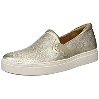 Naturalizer Women's Carly 3 Sneaker, Gold, 7 W US